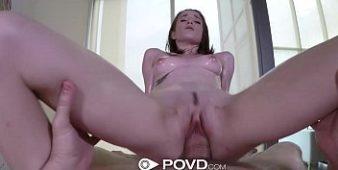 Sexo com brasileira jovem linda